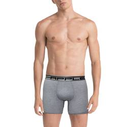 Apple Boxer Μακρύ πόδι 0110944 Grey Black